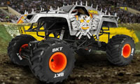 Axial SMT10 Max-D Monster Jam RTR truck w skali 1:10