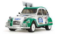 Tamiya Citroen 2CV Rally w wersji KIT